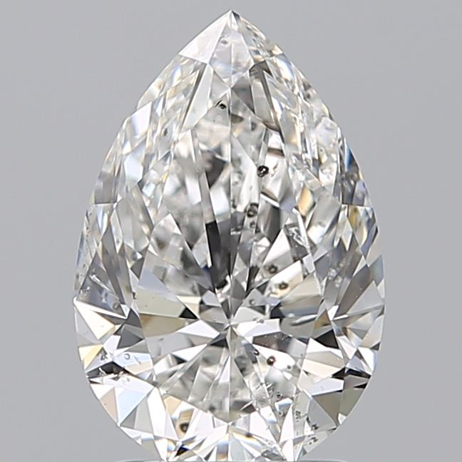 2.03 Carat Pear Loose Diamond, F, SI2, Super Ideal, GIA Certified