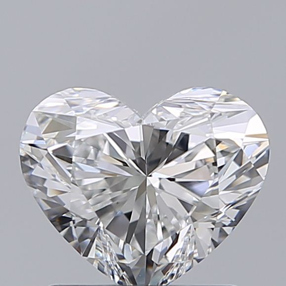 1.02 Carat Heart Loose Diamond, F, VS1, Super Ideal, GIA Certified
