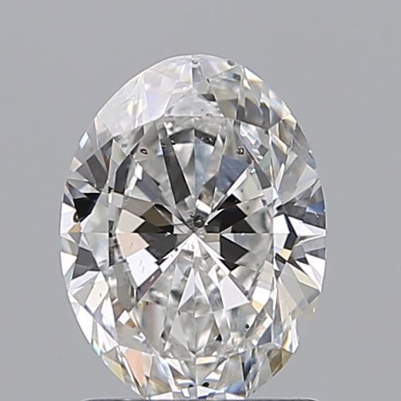 1.20 Carat Oval Loose Diamond, F, SI2, Ideal, GIA Certified | Thumbnail