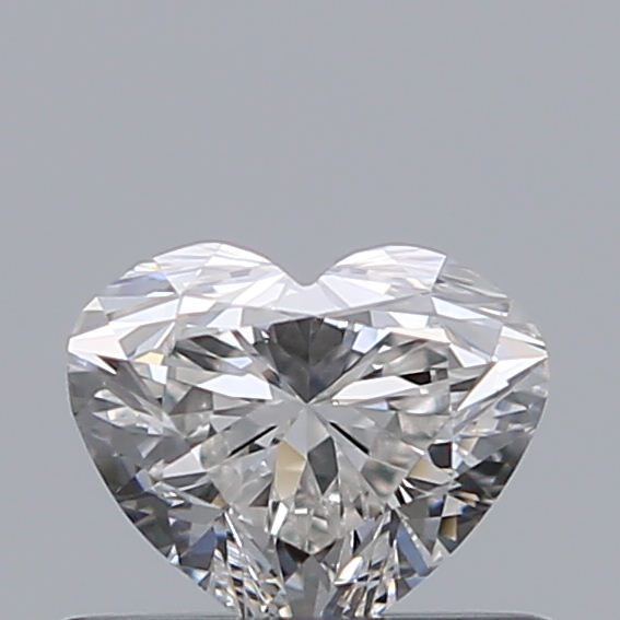 0.43 Carat Heart Loose Diamond, H, VVS1, Ideal, GIA Certified