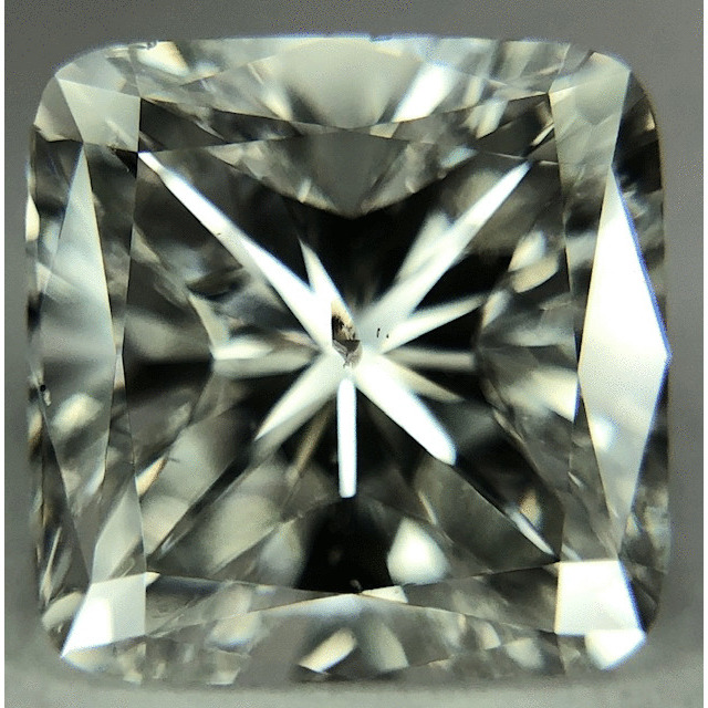 2.50 Carat Cushion Loose Diamond, I, SI2, Good, GIA Certified