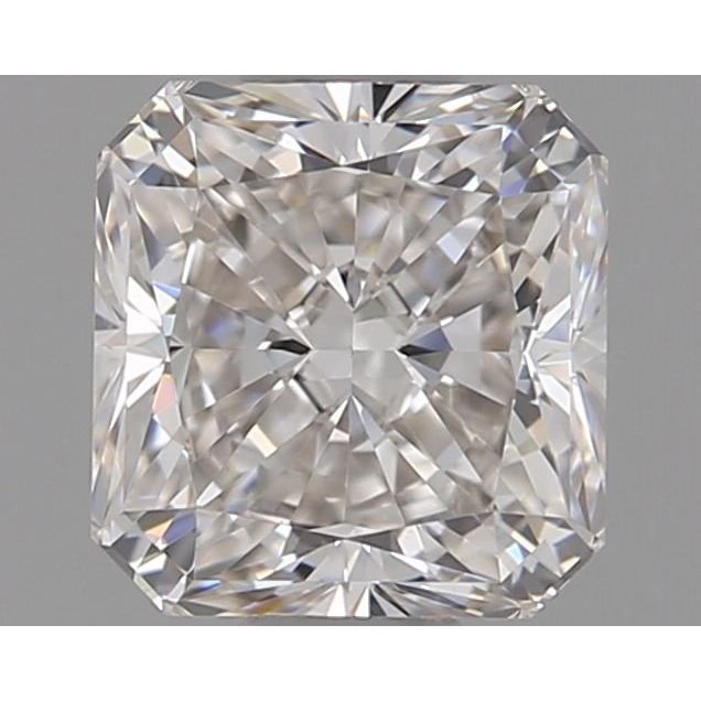 0.55 Carat Radiant Loose Diamond, H, VS1, Super Ideal, GIA Certified
