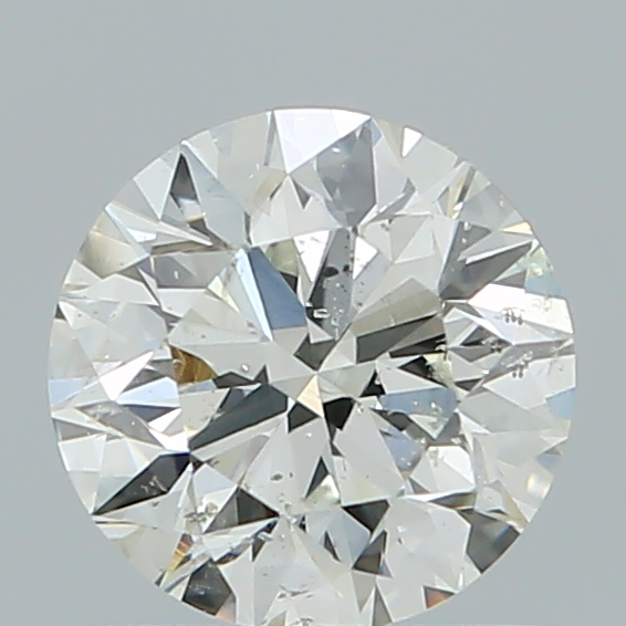 1.00 Carat Round Loose Diamond, I, SI2, Super Ideal, GIA Certified