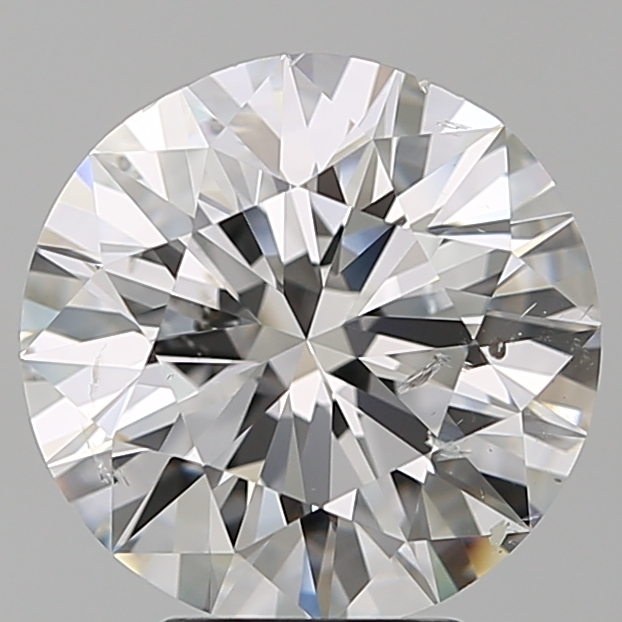 4.01 Carat Round Loose Diamond, F, SI2, Super Ideal, GIA Certified