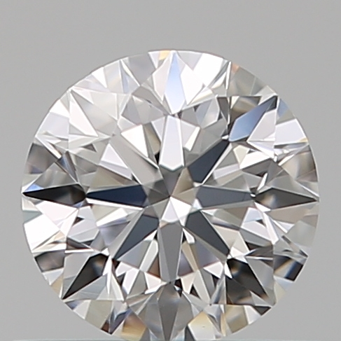0.46 Carat Round Loose Diamond, D, VS1, Super Ideal, GIA Certified