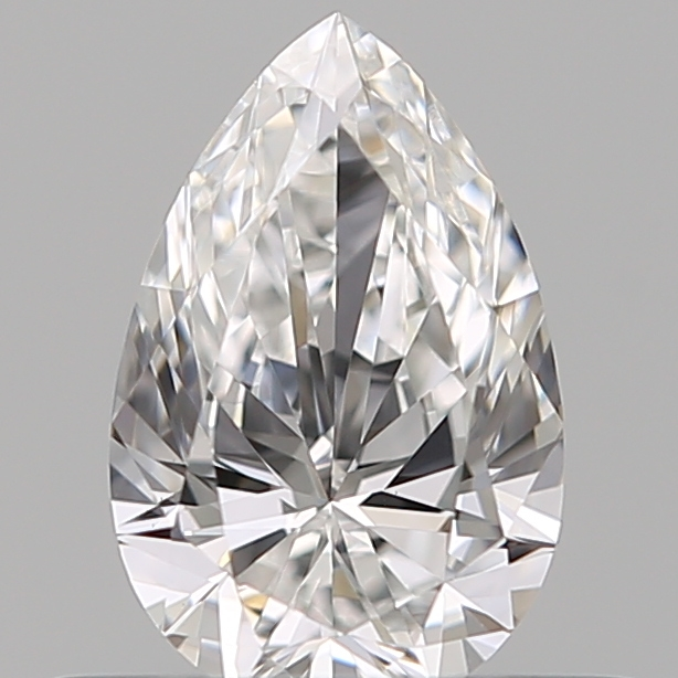 0.40 Carat Pear Loose Diamond, E, VVS1, Super Ideal, GIA Certified