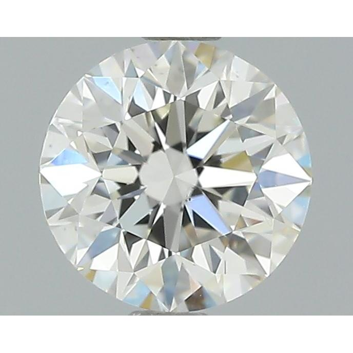 1.01 Carat Round Loose Diamond, J, VS2, Very Good, GIA Certified