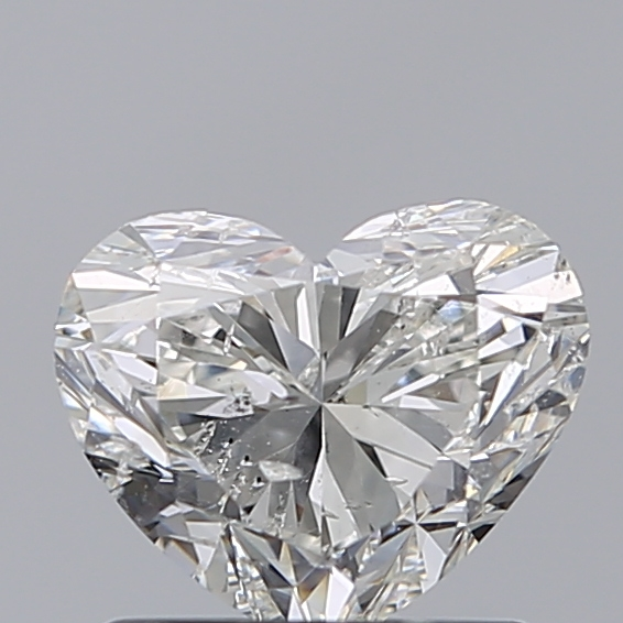 1.01 Carat Heart Loose Diamond, I, SI2, Excellent, GIA Certified