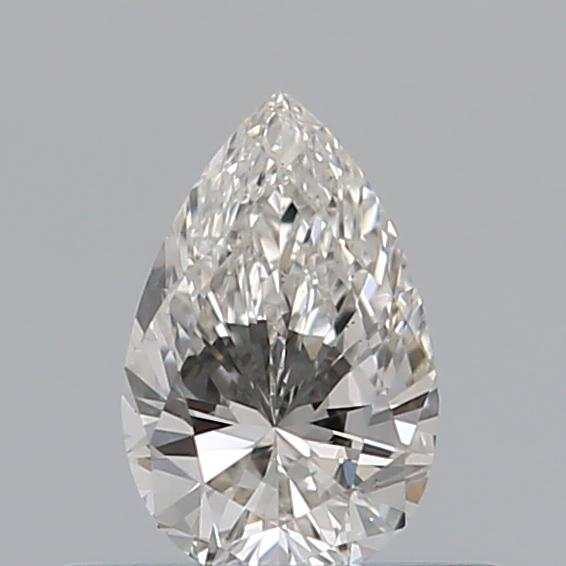 0.30 Carat Pear Loose Diamond, I, VS2, Excellent, GIA Certified