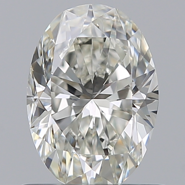 0.70 Carat Oval Loose Diamond, I, VS1, Excellent, GIA Certified