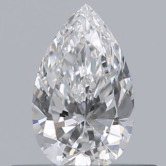 0.33 Carat Pear Loose Diamond, E, VS1, Excellent, GIA Certified