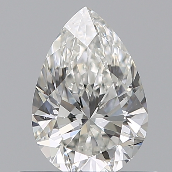 0.44 Carat Pear Loose Diamond, G, SI1, Ideal, GIA Certified | Thumbnail