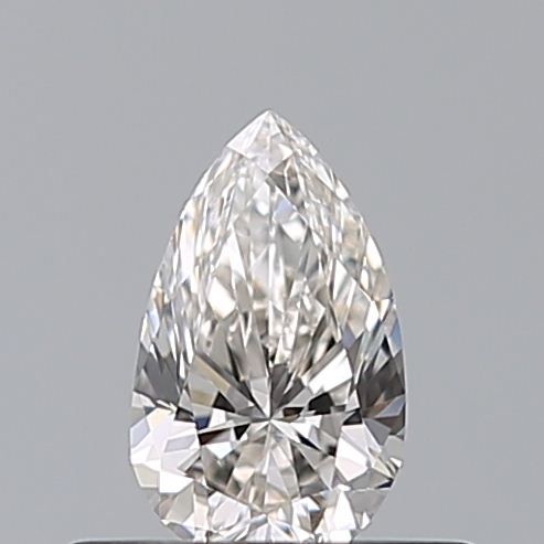 0.33 Carat Pear Loose Diamond, H, VVS2, Ideal, GIA Certified
