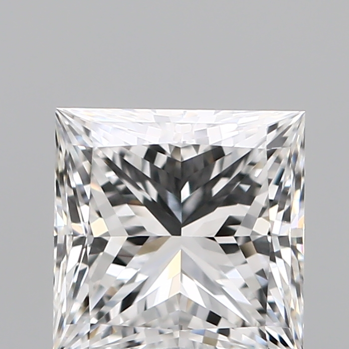 1.02 Carat Princess Loose Diamond, F, VVS1, Super Ideal, GIA Certified