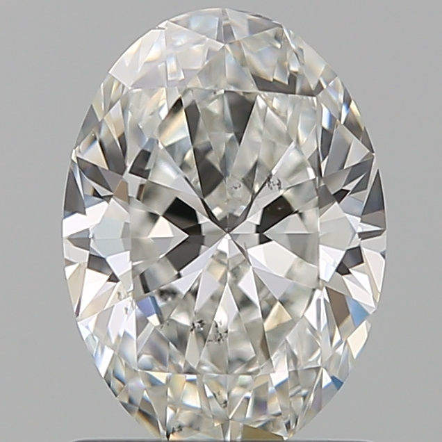 1.00 Carat Oval Loose Diamond, G, VS2, Super Ideal, GIA Certified