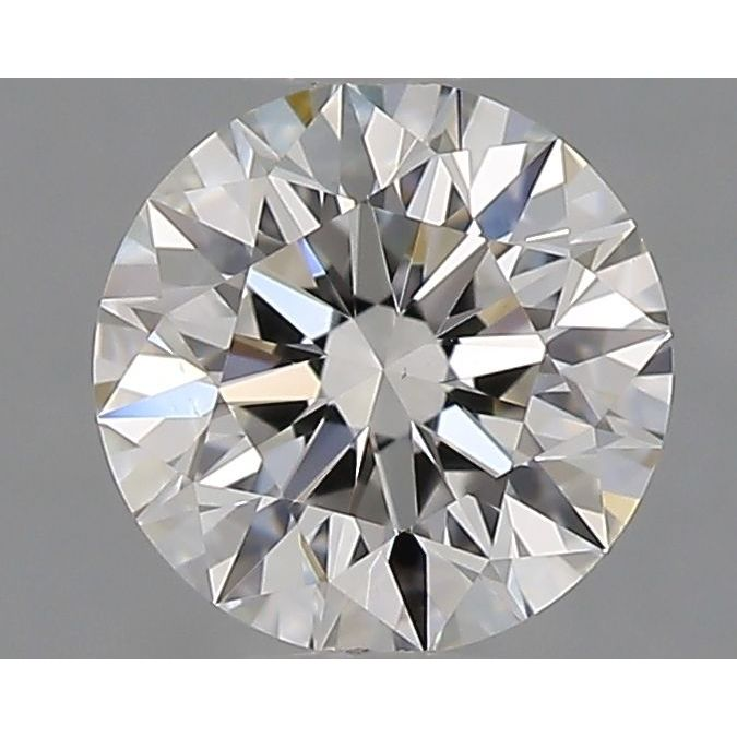 0.54 Carat Round Loose Diamond, F, VS1, Super Ideal, GIA Certified