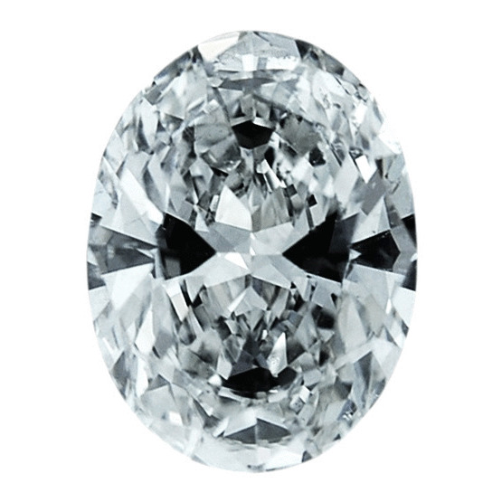 1.02 Carat Oval Loose Diamond, H, SI1, Ideal, GIA Certified