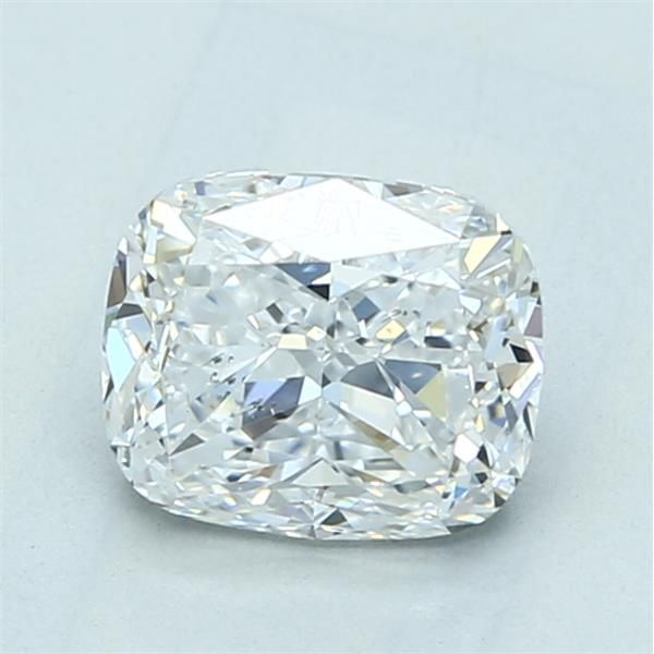 1.52 Carat Cushion Loose Diamond, D, SI1, Excellent, GIA Certified