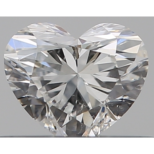 0.30 Carat Heart Loose Diamond, F, SI2, Ideal, GIA Certified