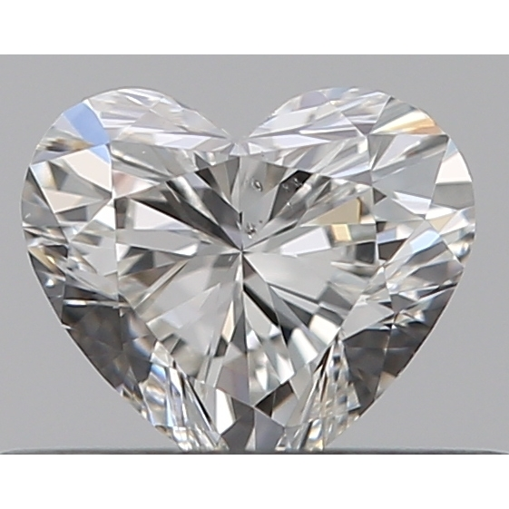 0.30 Carat Heart Loose Diamond, H, SI1, Ideal, GIA Certified