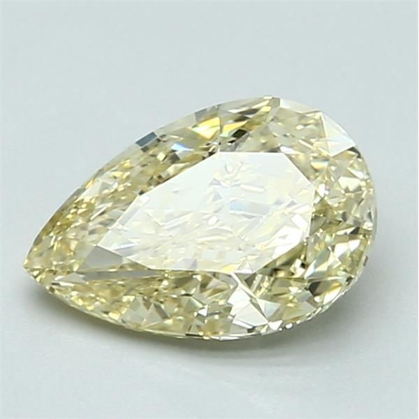 1.24 Carat Pear Loose Diamond, FY FY, VS2, Ideal, GIA Certified