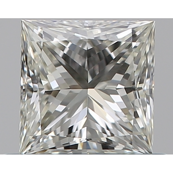 0.52 Carat Princess Loose Diamond, K, VVS2, Ideal, GIA Certified | Thumbnail