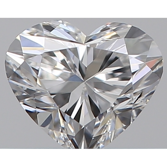 0.32 Carat Heart Loose Diamond, E, VS1, Ideal, GIA Certified | Thumbnail