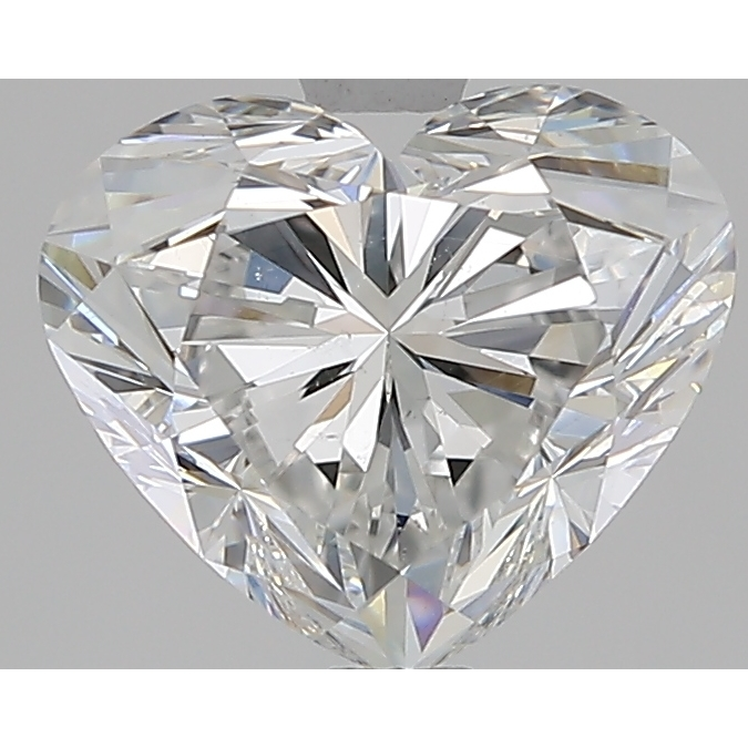 2.23 Carat Heart Loose Diamond, F, SI1, Super Ideal, GIA Certified | Thumbnail