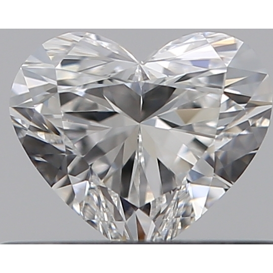 0.36 Carat Heart Loose Diamond, F, VS1, Super Ideal, GIA Certified | Thumbnail