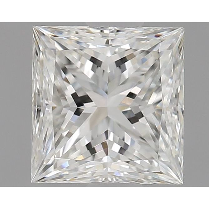 0.72 Carat Princess Loose Diamond, H, IF, Super Ideal, GIA Certified