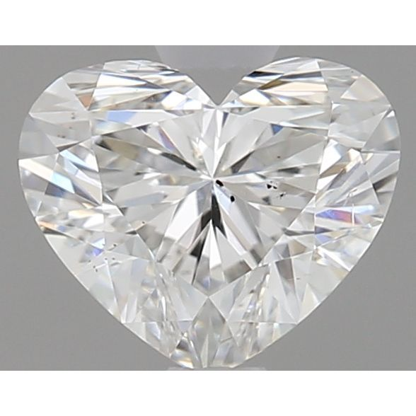 0.51 Carat Heart Loose Diamond, G, SI1, Ideal, GIA Certified