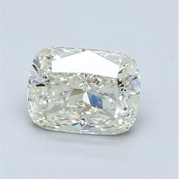 1.02 Carat Cushion Loose Diamond, L, SI1, Excellent, GIA Certified