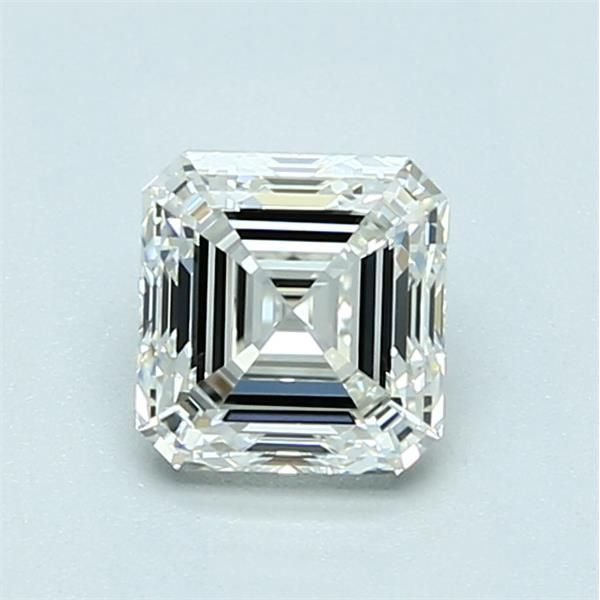 1.02 Carat Asscher Loose Diamond, J, VVS1, Super Ideal, GIA Certified