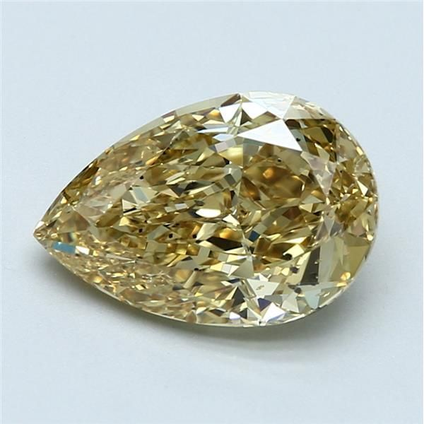 2.63 Carat Pear Loose Diamond, FDBY FDBY, SI2, Super Ideal, GIA Certified