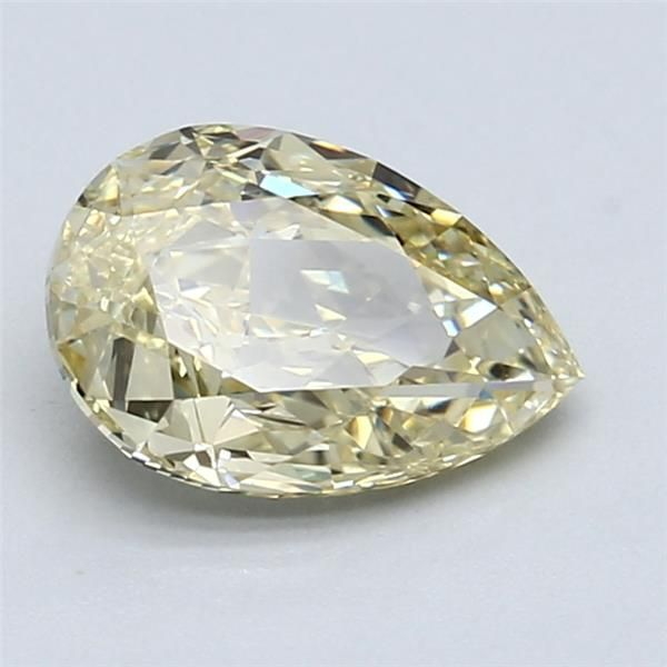 1.57 Carat Pear Loose Diamond, FBY FBY, VS1, Ideal, GIA Certified