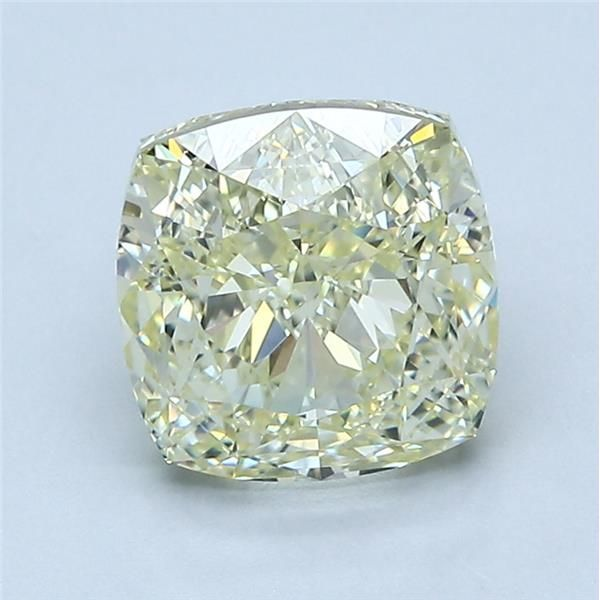 2.75 Carat Cushion Loose Diamond, FLY FLY, VVS2, Excellent, GIA Certified