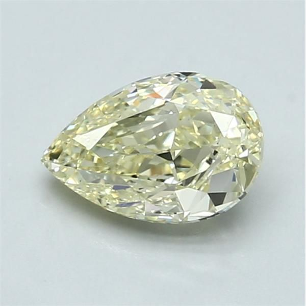 1.03 Carat Pear Loose Diamond, FLY FLY, VS2, Excellent, GIA Certified