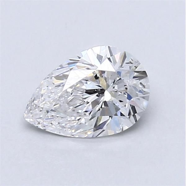 0.69 Carat Pear Loose Diamond, D, I1, Excellent, GIA Certified