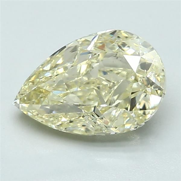 2.01 Carat Pear Loose Diamond, FLY FLY, SI2, Ideal, GIA Certified