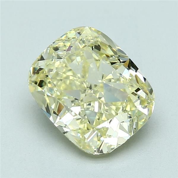 3.05 Carat Cushion Loose Diamond, FLY FLY, VVS1, Ideal, GIA Certified