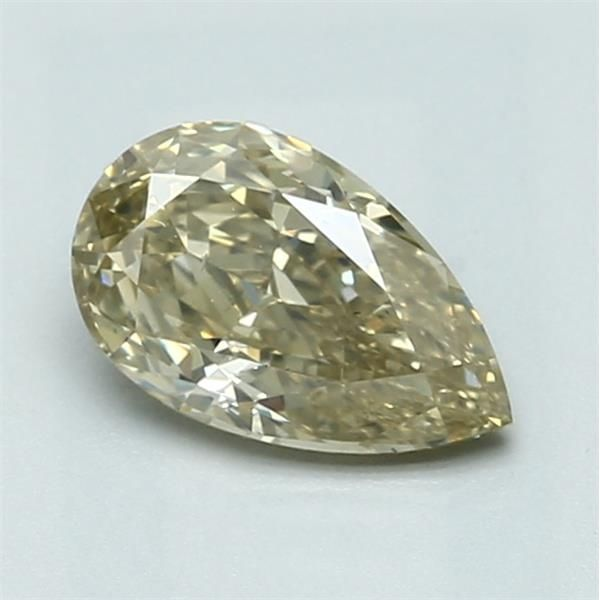0.91 Carat Pear Loose Diamond, FBY FBY, SI1, Super Ideal, GIA Certified