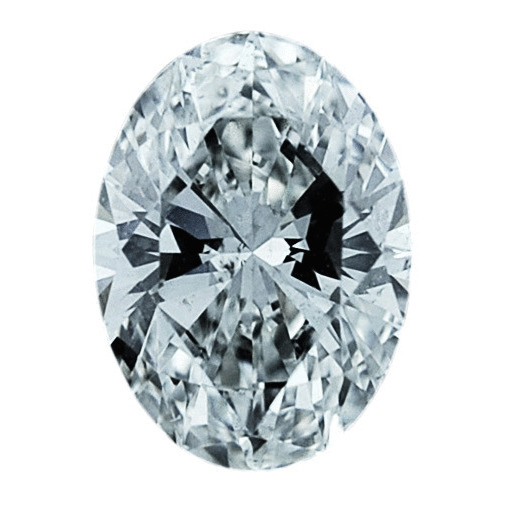 0.74 Carat Oval Loose Diamond, G, SI1, Super Ideal, GIA Certified
