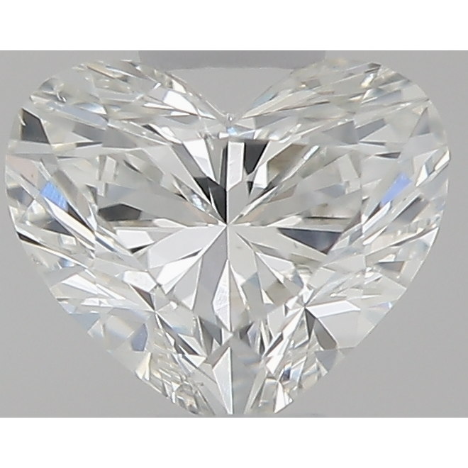 0.31 Carat Heart Loose Diamond, H, SI1, Ideal, GIA Certified