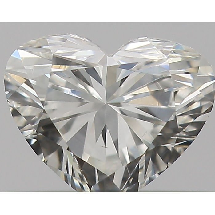 0.30 Carat Heart Loose Diamond, I, VS2, Excellent, GIA Certified | Thumbnail