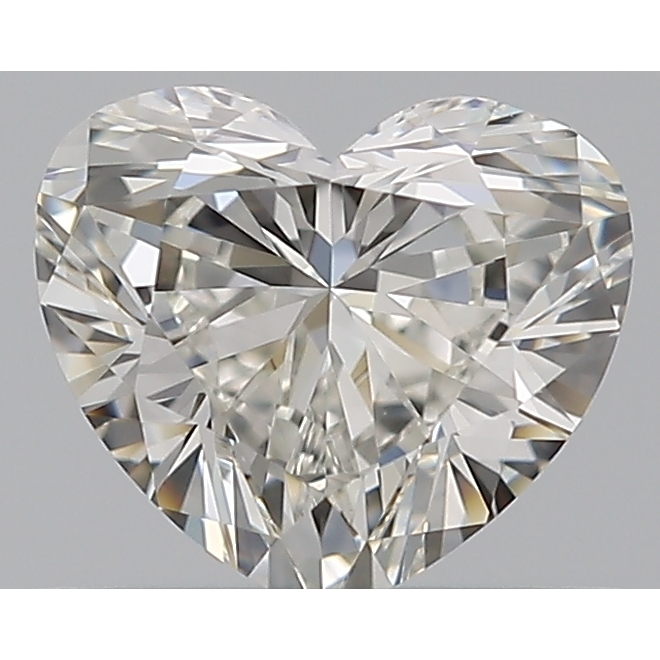 0.50 Carat Heart Loose Diamond, I, VVS1, Super Ideal, GIA Certified