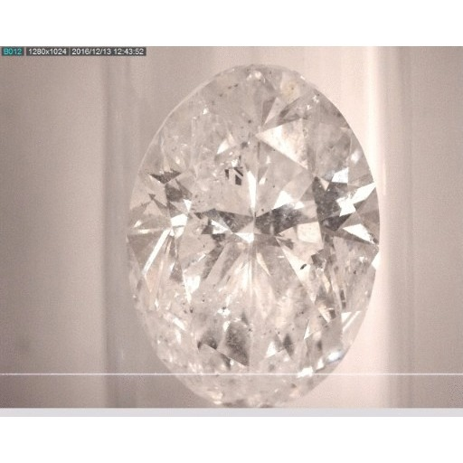 2.50 Carat Oval Loose Diamond, E, I1, Ideal, GIA Certified