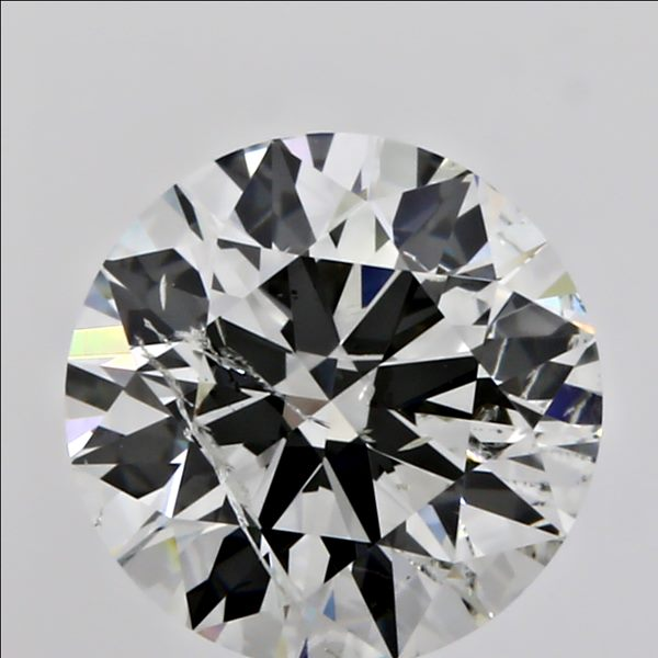 1.01 Carat Round Loose Diamond, I, I1, Super Ideal, GIA Certified