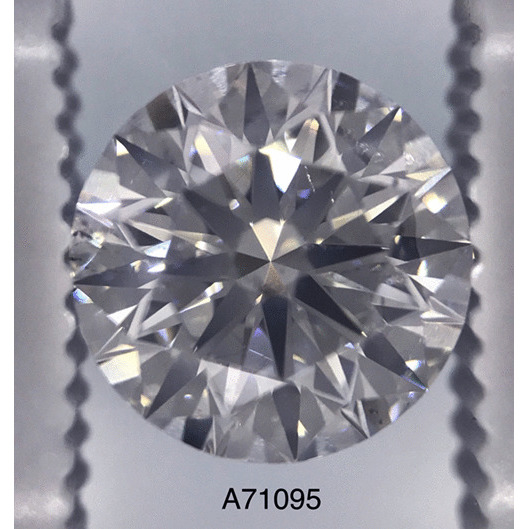 2.52 Carat Round Loose Diamond, G, SI2, Super Ideal, GIA Certified