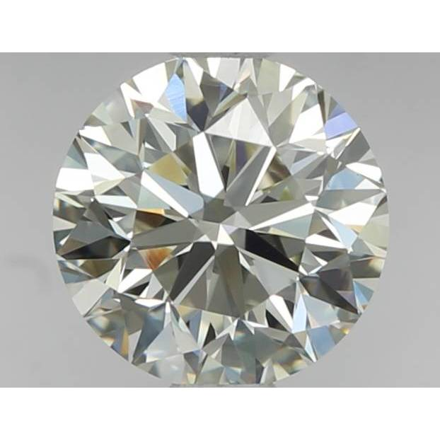 0.80 Carat Round Loose Diamond, L, IF, Very Good, GIA Certified