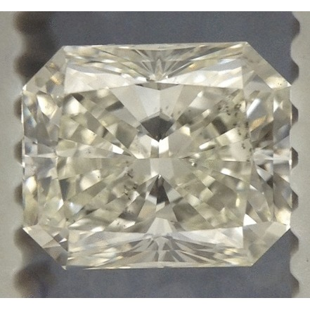 0.87 Carat Radiant Loose Diamond, I, VS2, Super Ideal, EGL Certified